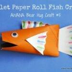 Toilet Paper Roll Fish – Awana Bear Hug #5 Craft