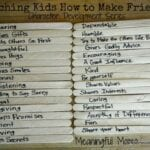 Teaching Kids to Make Friends