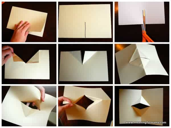 1-#how to fold a paper mouth #worship #teaching kids