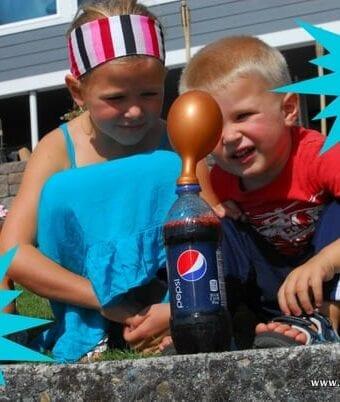 Pop Rocks and Soda Science Experiment Teaches Curiosity