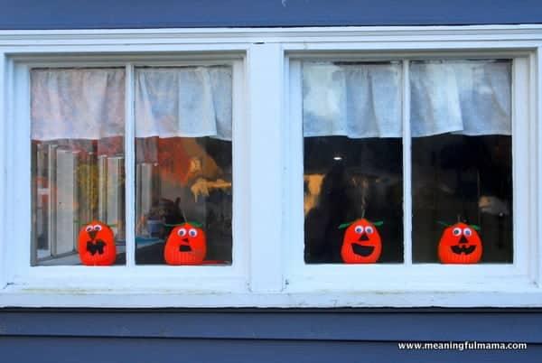1-#pumpkin sock craft #halloween jack-o-lantern craft-035