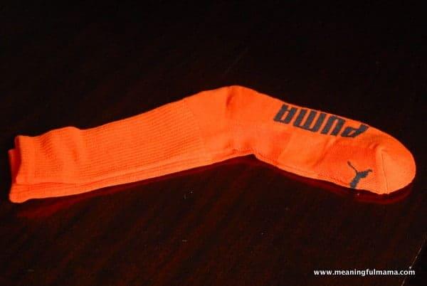 1-#pumpkin sock craft #halloween jack-o-lantern craft