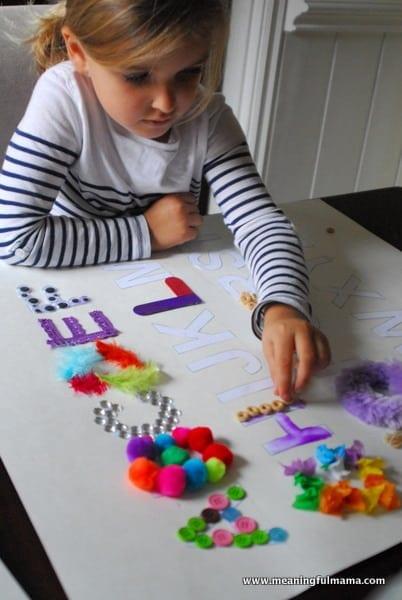 1-#texture alphabet #craft #teaching kids #elmers academy-043