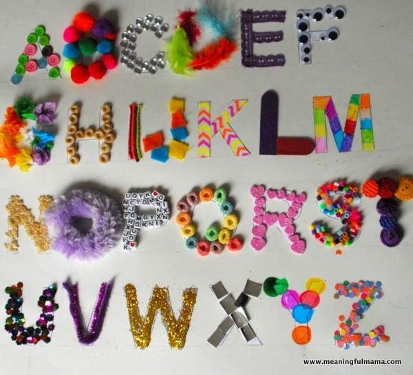 1-#texture alphabet #craft #teaching kids #elmers academy-050