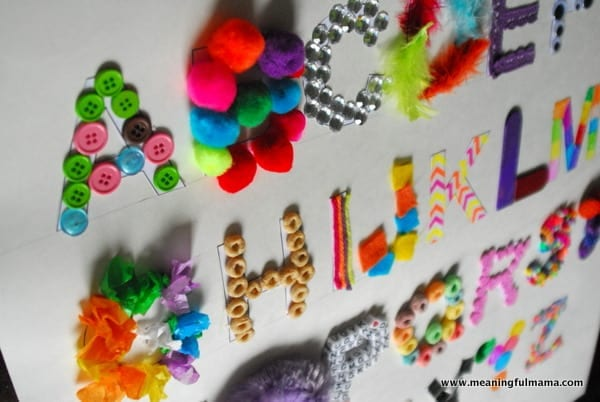 alphabet activities, alphabet craft