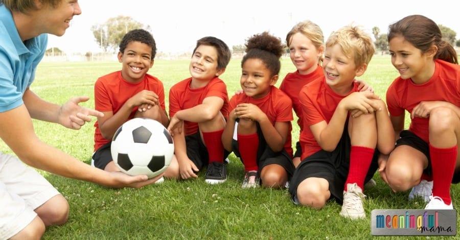 for soccer kids games