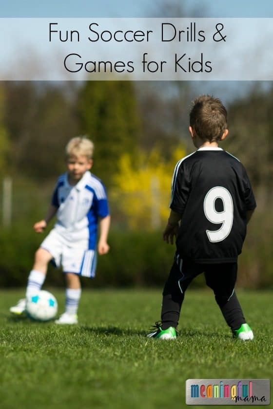Beginning Soccer Drills for Kids