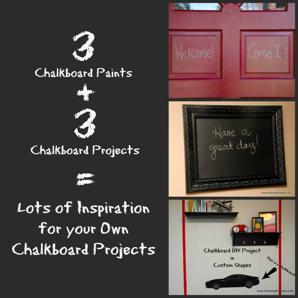#chalkboard #DIY #paint #tutorial