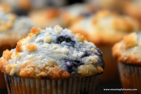1-#blueberry muffins #recipe #crumble topping-016