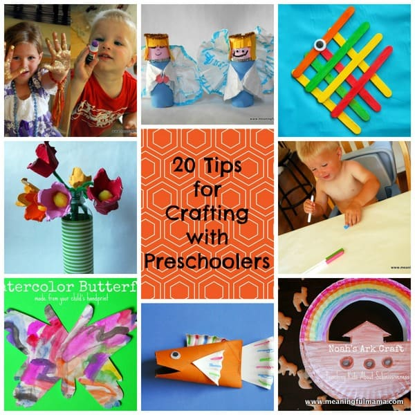 1-#crafting with preschoolers #tips