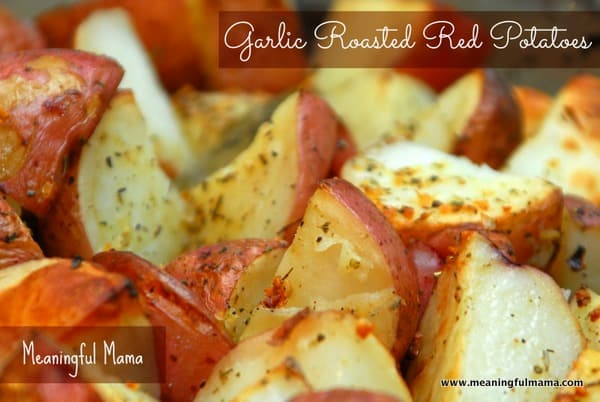 1-#garlic roasted red potatoes #recipe -004