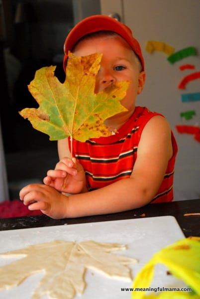 1-#leaf bowl #craft #salt dough #kids-028
