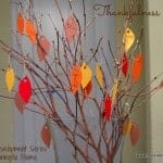 Thankfulness Tree