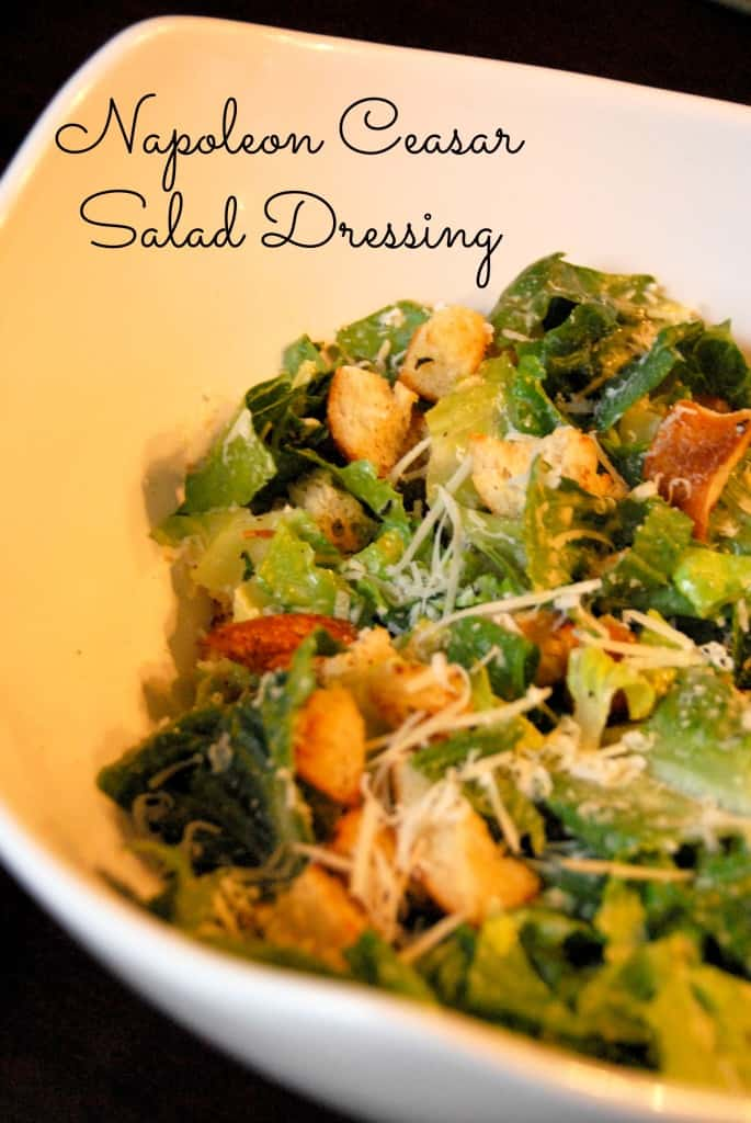 #caesar salad #dressing recipe napoleon-012 copy