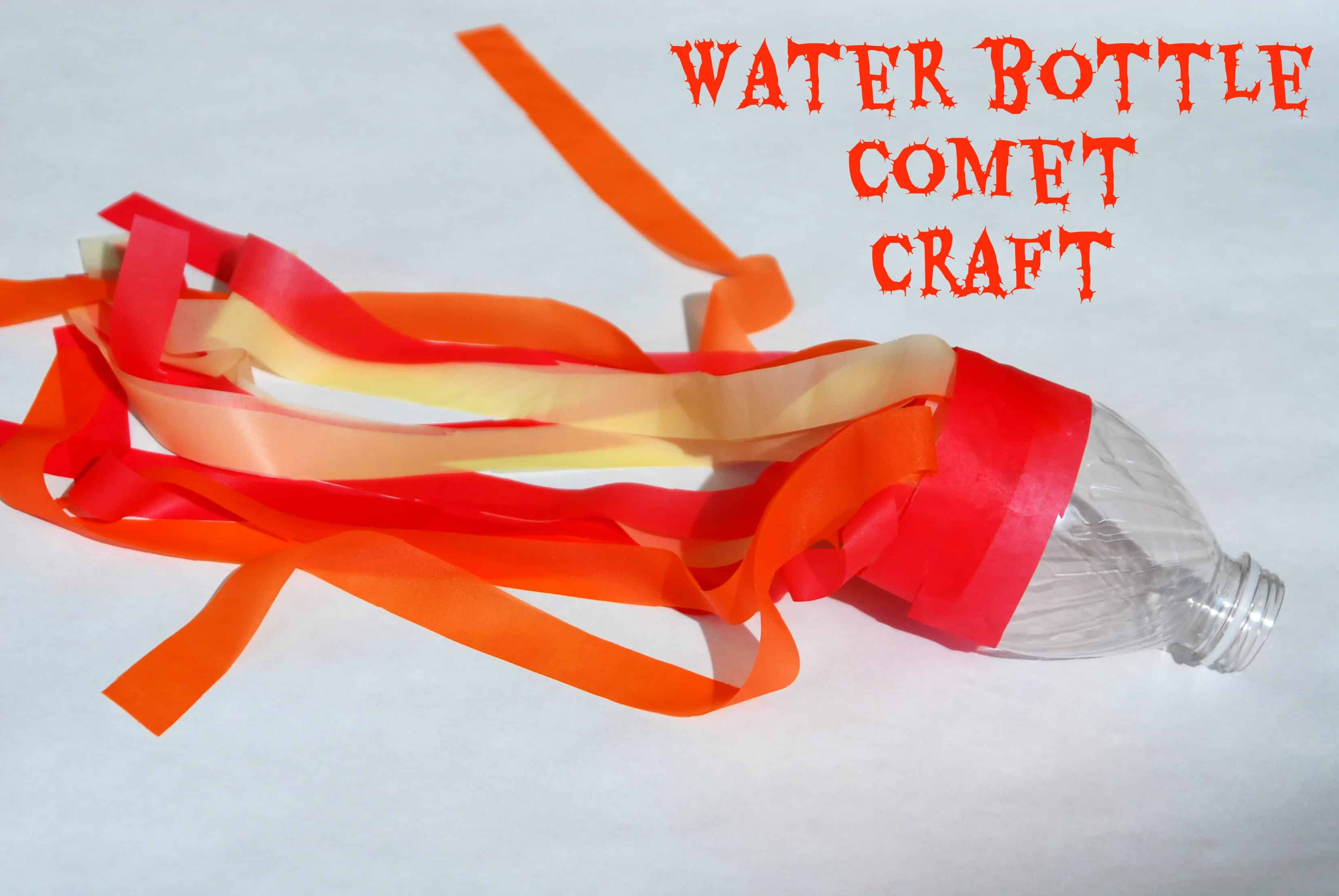 water bottle comet craft