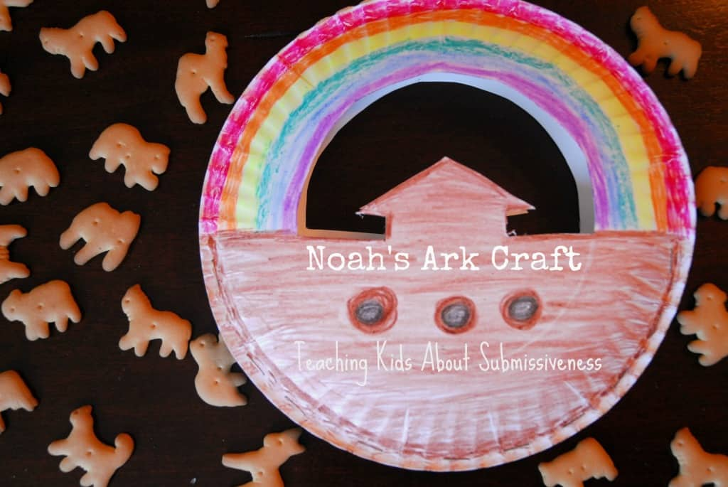 #noah's ark #craft #teaching #submissiveness kids-018