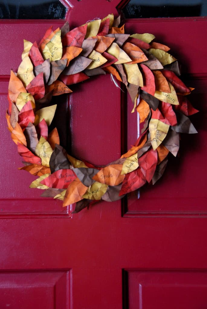 thanksgiving wreath leaves-018