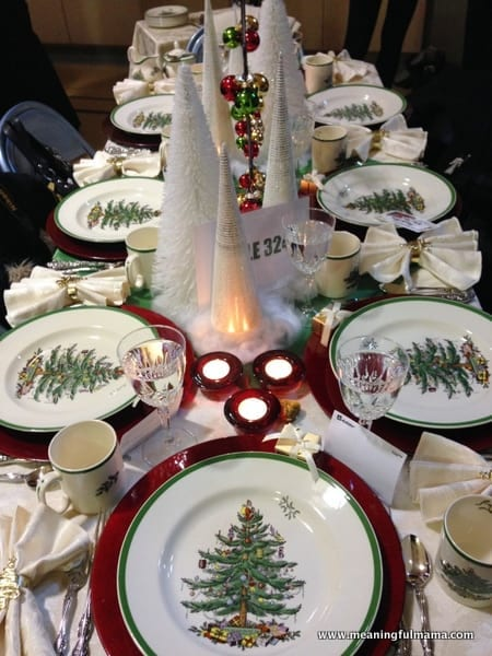 1 christmas table decorations decorating ideas diningroom 024