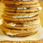 Eggnog Sandwich Cookies with Land O' Lakes Butter