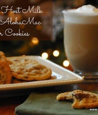 Hawaiian Host Milk Chocolate AlohaMac Butter Cookies