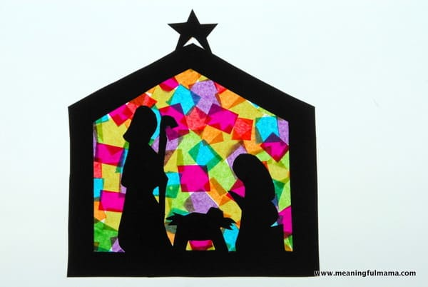 1-#nativitycraft 2 #nativty #stainedglass #Christmas #craft-023