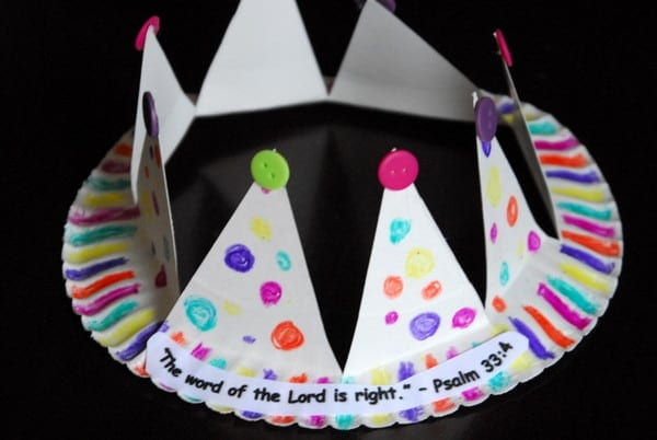 1-#paper plate crown #cubbies bear hug 10 #AWANA crafts-016 : paper plate art - pezcame.com