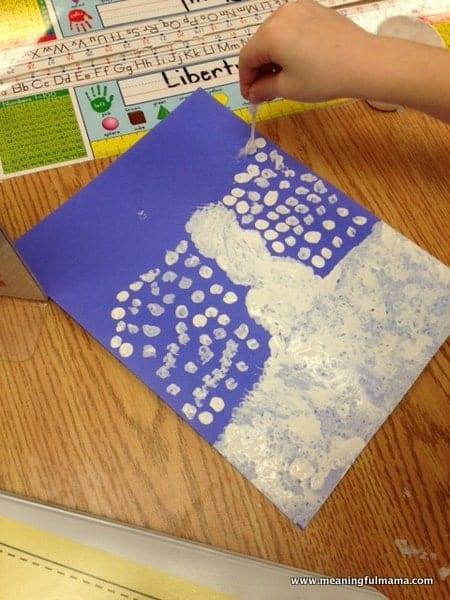 1-#pointillism snowman #snowman craft #classroom winter craft-012