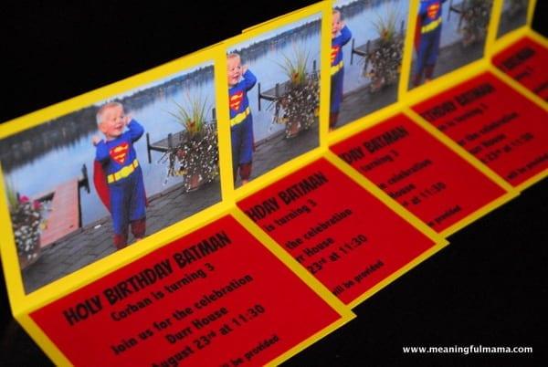 Superhero Invitations Printable Included
