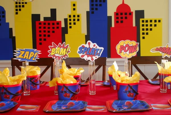 1 Superhero Birthday Party Ideas 3 Year Old 051