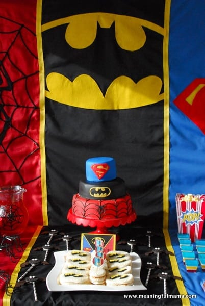 1 Superhero Birthday Party Ideas 3 Year Old 054