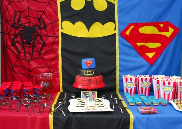 1-#superhero birthday party #ideas #3 year old-056