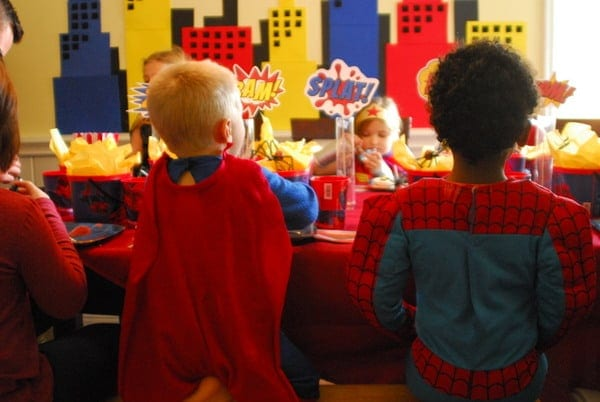 1-#superhero birthday party #ideas #3 year old-098