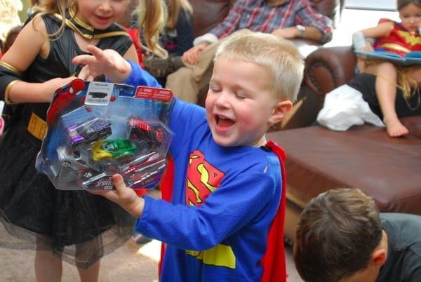 1-#superhero birthday party #ideas #3 year old-134