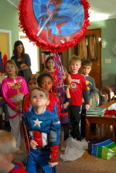 1 Superhero Birthday Party Ideas 3 Year Old 143