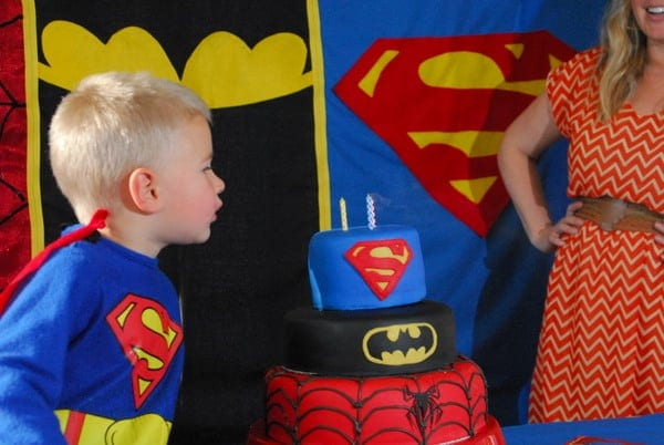 1-#superhero birthday party #ideas #3 year old-152