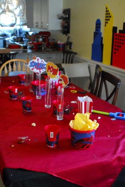 1-#superhero birthday party #ideas #3 year old-162