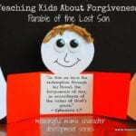 Teaching Kids Forgiveness – Parable of the Lost Son Craft