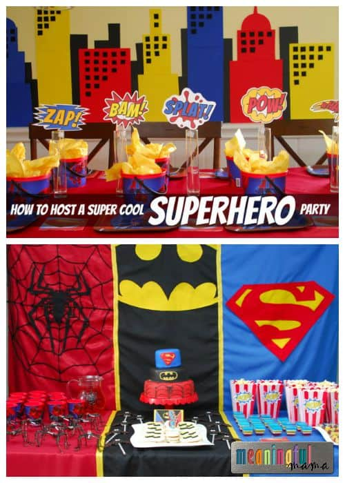 Super Cool Superhero Party