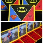 Superhero Invitations – Printable Included