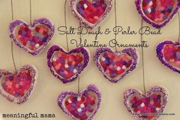 Schön We Created These Fun Salt Dough And Perler Bead Valentine Ornaments So We  Could Have A Little Homemade Design In Our Home This Season.