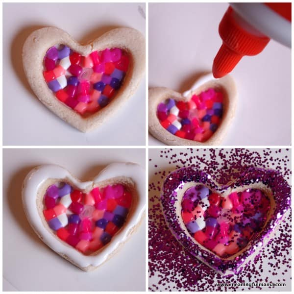 Dough and perler bead valentine ornaments 1 salt dough valentine perler beads 002 solutioingenieria Choice Image