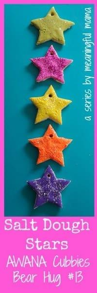 1-#saltdough star craft awana cubbies bear hug 13