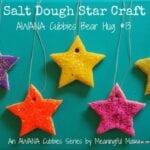 Salt Dough Star Craft – AWANA Cubbies Bear Hug #13