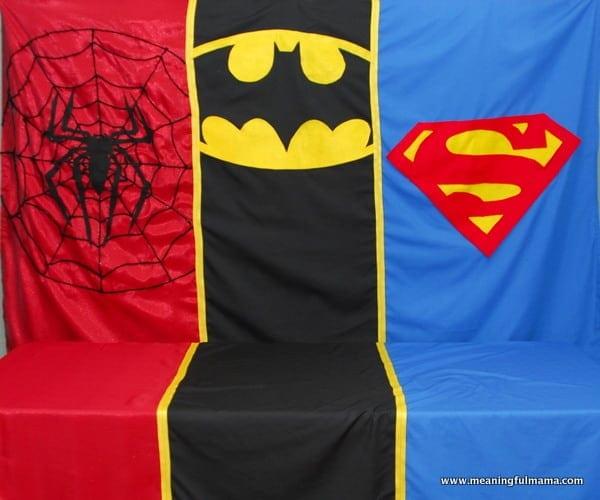 1-#superhero birthday party #ideas #3 year old-002