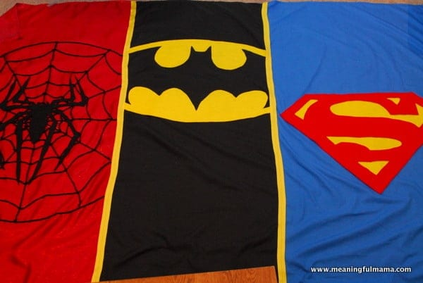 1-#superhero party ideas #backdrop #superman #batman #spiderman-022