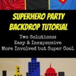 How to Create a Superhero Backdrop