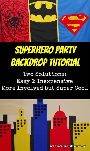 1-#superhero #partydecorations backdrop-001