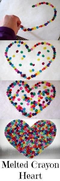 1-#valentine #craft melted crayon heart-001