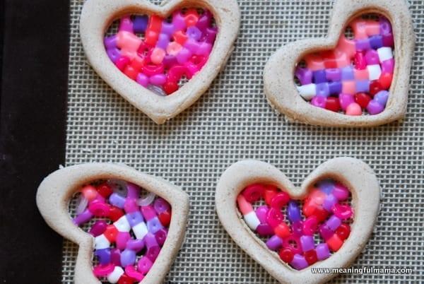 1-#valentines craft #salt dough #perler beads-035