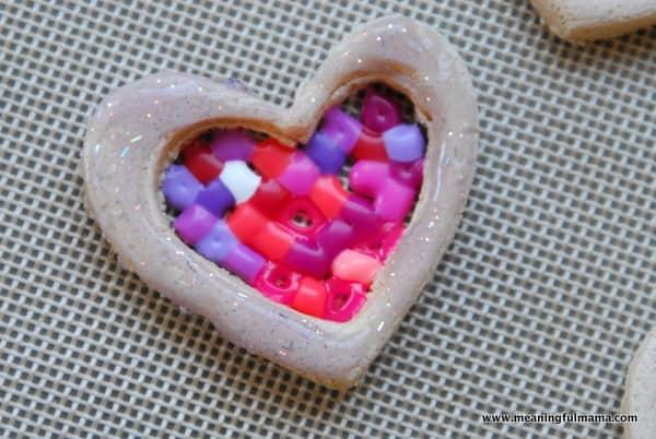 1-#valentines craft #salt dough #perler beads-039